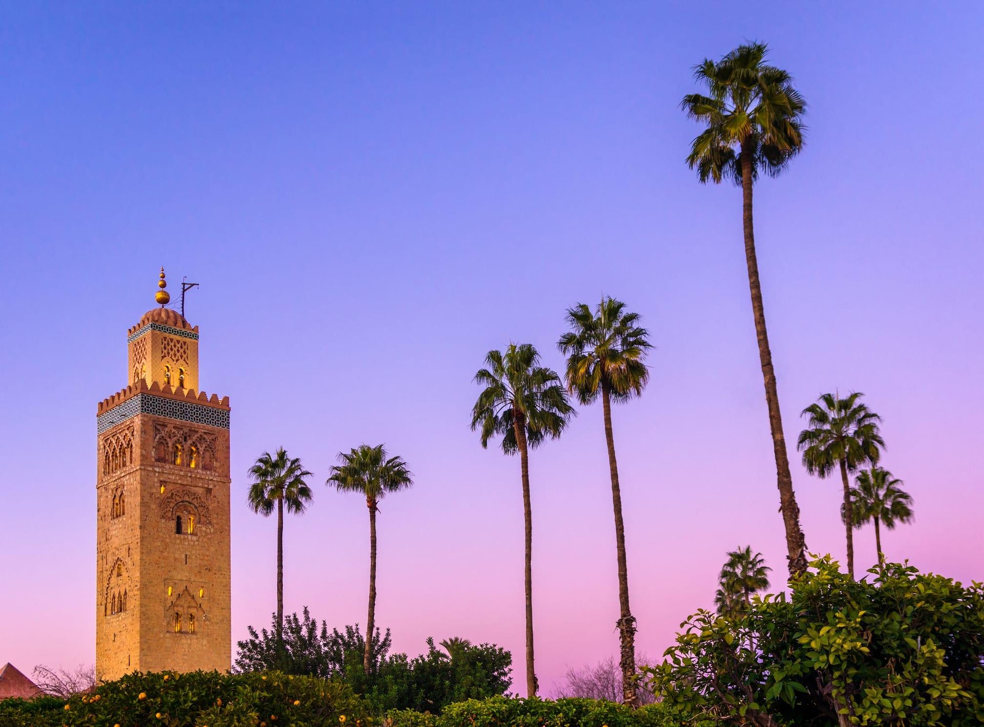 Moschea a Marrakech