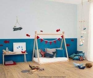 Modello tenda di lettini Montessori