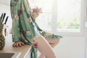 Conna co vestito floreale
