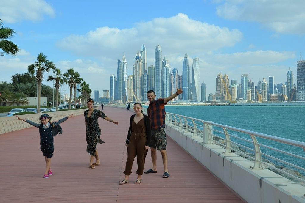 Dubai in famiglia