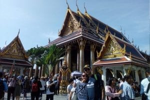 viaggio a Bangkok e templi