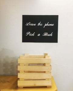 Pickabook leave the phone