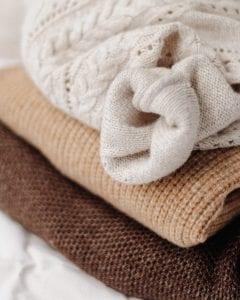 maglioni di lana. Moda etica