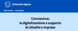 coronavirus e social network