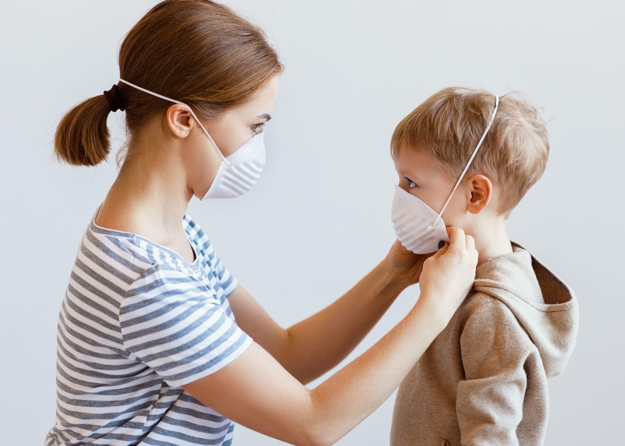 mascherine per bambini