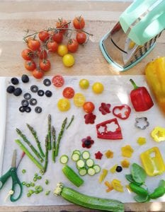 Rustici con verdure