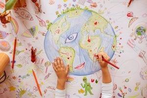 bambini in rete disegni