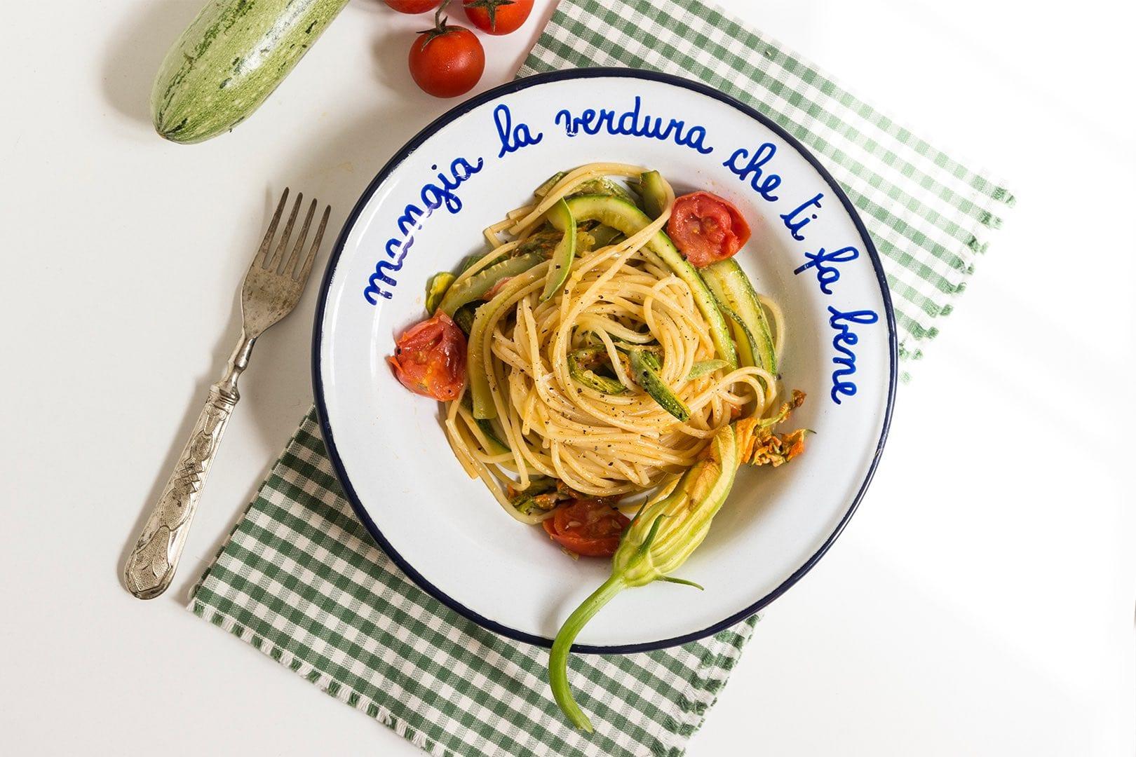 Spaghetti cacio e pepe