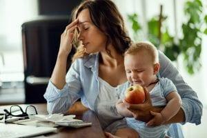 mamme smart-working e bambini