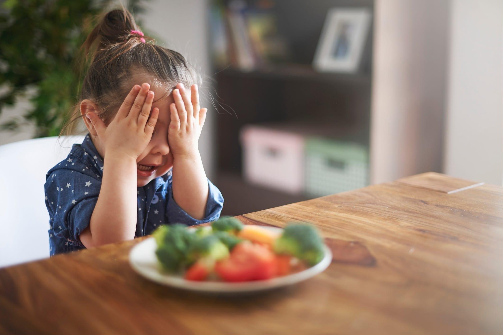 Mio figlio non mangia