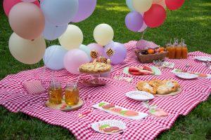 Festa per bambini a tema picnic
