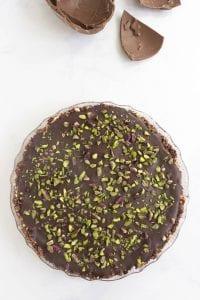 torta salame di cioccolato e biscotti